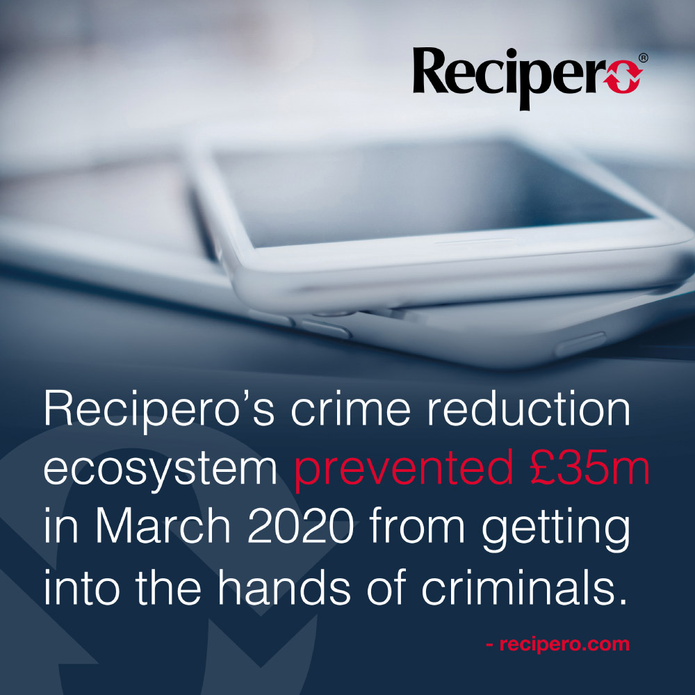 Recipero Prevents Criminals From a Gain of £35M